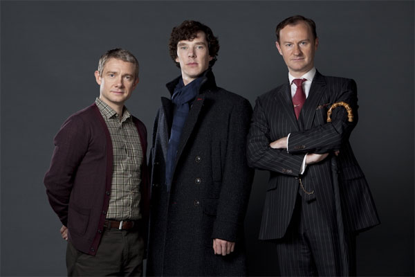 Cast of Sherlock